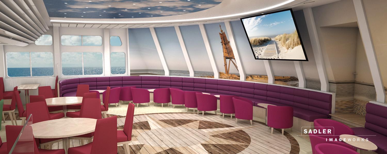 Sadler-Imageworks - 3D-Visualisierung Helgoland Fähre